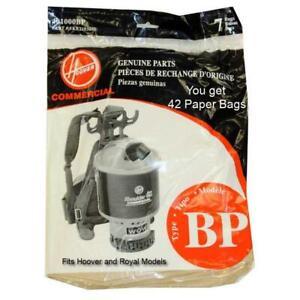Paper Vacuum Bags for Hoover C2401 Backpack 401000BP (42 Bags)