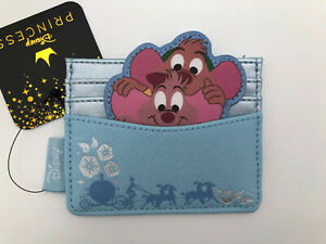 Loungefly Disney Cinderella Mouse - Jaq & Gus Gus - Cardholder ID Wallet Mice