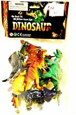 Plastic Dinosaurs Pack Of 6 Toy, 10cm. Go Back To 180 Million Years Ago.