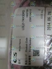CCS LDL2-74X30RD * NEW IN ORIGINAL PACKAGE *