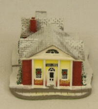 Norman Rockwell THE BANK Main Street at Christmas Village #82126 NEW in BOX