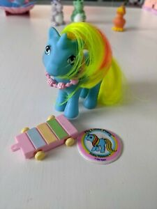 My Little Pony Vintage G1 Baby Ribbon with accessories