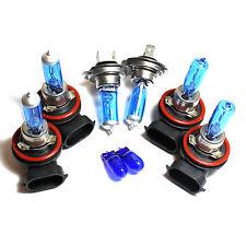 Audi A6 C6 H9 H7 H11 501 55w Super White Xenon High/Low/Fog/Side Headlight Bulbs