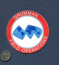 Decal GRUMMAN Field Operations US NAVY Tomcat Intruder Squadron Patch Image