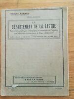 adolphe renard - le département de la sarthe - Vadé / Graphin années 50