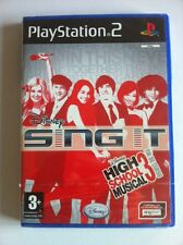 HIGH SCHOOL MUSICAL 3. FIN DE CURSO - SING IT - DISNEY - PS2 - NEW & SEALED