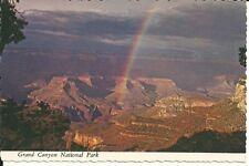 Vintage Postcard - Grand Canyon National Park South Rim Rainbow Arizona AZ 1975