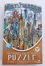 Jigsaw Puzzle Manhattan 500 pc New York Greatest City on Earth Cardinal Games