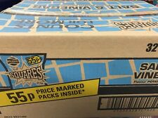 Walkers Crisps Squares Salt And Vinegar Full Case X32 Bags Free Delivery