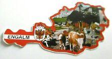 Souvenir-Aufkleber Eng-Alm Almdorf Karwendel Schwaz Tirol Österreich 80er