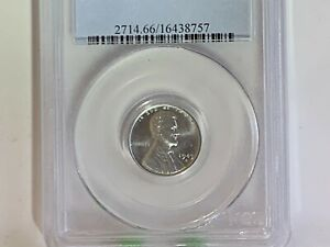 1943 D  LINCOLN CENT PCGS MS66