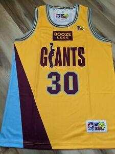 Scott Fisher 1992 North Melbourne Giants Replica NBL Jersey - medium