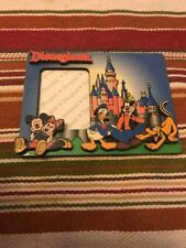 DISNEYLAND MICKEY MOUSE MINNIE PLUTO AND GOOFY PICTURE MAGNET