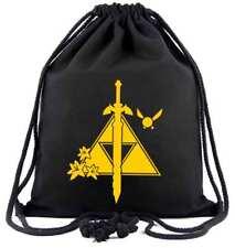 The Legend of Zelda Bag Beutel Tasche Turnbeutel Sport Sack Triforce Wild NEU
