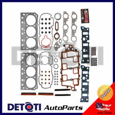 Head Gasket Set Bolts For 1997-2005 Pontiac Buick Oldsmobile 3.8 V6 OHV Graphite