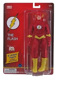 "NEW 2021 MEGO THE FLASH 8"" FIGURE MOC!"