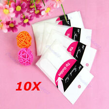 10x 3 Style French Manicure Nail Art Tips Form Fringe Guides Sticker DIY Stencil