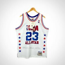 Michael Jordan Mitchell & Ness 2003 All Star Nba Jersey Size 40 Wizards S Bulls
