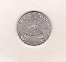 USA 1924 Silver Huguenot Wallon Demi Dollar en près de extrêmement fine condition