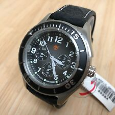Unused Timberland Mens 100m Diver Analog Quartz Watch Hours~Day Date~New Battery
