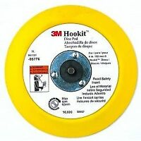 3M 05776 Hookit 6 Inch Disc Pad with Round Back Up