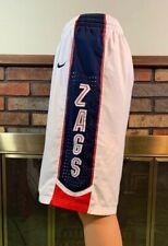 Vintage Nike Dri Fit Gonzaga University NCAA Basketball Shorts Mens Size Large