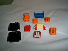 Lego Lot of 10 Mixed Specialty Bricks Printed Arctic Auto Hoods Windshield