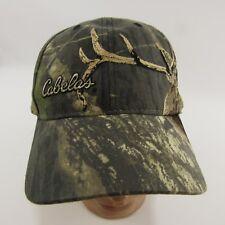 Cabela s Cam Hat Deer Hunting Adjustable Strapback Baseball Cap Camouflage 0733e2ef4bcb