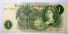 UK Great Britain British 1 Pound O'BRIEN , ND(1960-61),P-374 'UNC'