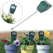 Soil Moisture Meter PH Level Tester Indoor/Outdoor Plant Monitor 3.0 - 10.0 pH