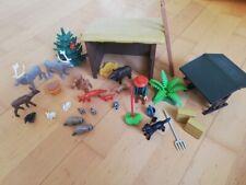 Playmobil Country Konvolut Wald Tiere Unterstand Förster Zubehör