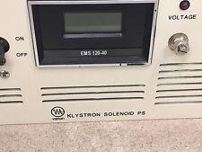 LAMBDA VARIAN EMI DC Power Supply EMS-120-40-2-D-10T-0209E