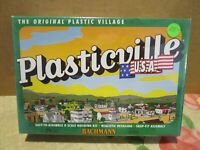 Plasticville, O Scale, 45603, Windmill w/Farm Machinery, Mint, Sealed in OB.