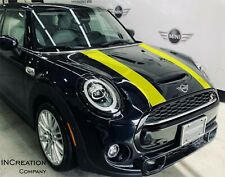 Compatible With Mini Cooper hood decals sport Racing Stripes Plain Vinyl Graphic