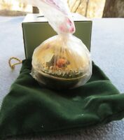 Wallace 2010 Gold Plated Sleigh Bell 21st Annual NEW IN BOX