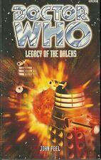 OOP Paperback Book - DOCTOR WHO - LEGACY OF THE DALEKS - John Peel - BBC - 1998