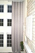 Extra Long jacquard blackout curtain with stripes, custom made drape 16-20 feet