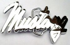 Officially Licensed Ford Mustang In Letters Belt Buckle