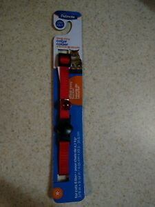 Petmate Break away Collar For Cats 6lbs. Red With A Bell Brand New