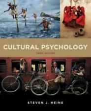 Cultural Psychology by Steven J. Heine (2015, Paperback) NO writing NO highlight
