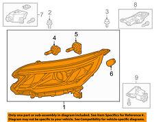 HONDA OEM 15-16 CR-V-Headlight-Head light Headlamp Assy Left 33150T1WA11