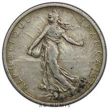 2 francs 1901 Semeuse France TTB - Argent