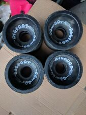 BIGFOOT CONICAL Longboard Wheels 68mm x 56mm BLACK 80a