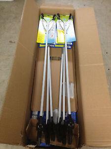 "12 - 40"" Pick-Up Tool Grabber Reaching Long reach Extension Trash Stick Aluminum"