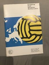 More details for 1961 european cup final programme barcelona v benfica very good condition