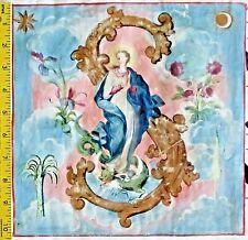 Gigantic Antiphonary Manuscript Lf.Vellum,with painting,St.Mary kills devil