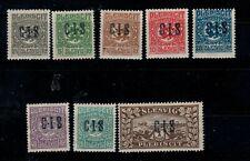 B6) 1920 Schleswig Dienst opdruk CIS  met plakker  alles fake