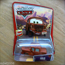 "Disney PIXAR World of Cars FRED #44 diecast ""He knows my name!"" BIG Size Retired"