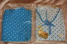 "Pyjama Vintage Fille bleu et Fleurs ""lingerie Alsamaille "" 10 ans"