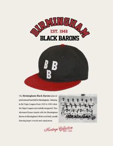 Birmingham Black Barons Negro League Baseball Hat Wool Negro League Baseball Cap